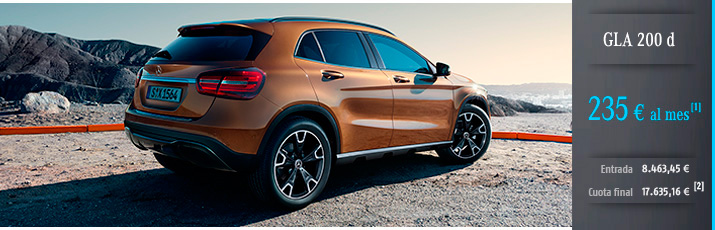 Oferta Mercedes GLA 200d con Mercedes-Benz Alternative